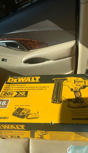 Dewalt 18 nail gun kit for Sale in Nashville, TN