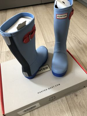 Hunter kids rain boots for Sale in Brooklyn, NY