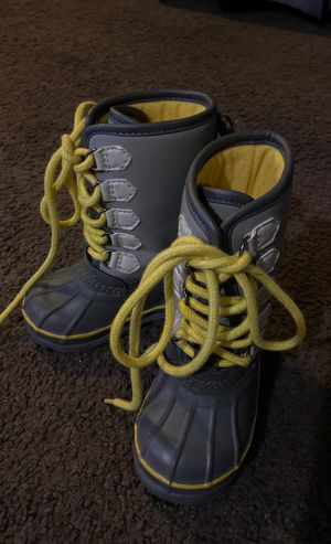 Baby Gap Size 6 toddler rain / snow boots for Sale in West Carson, CA