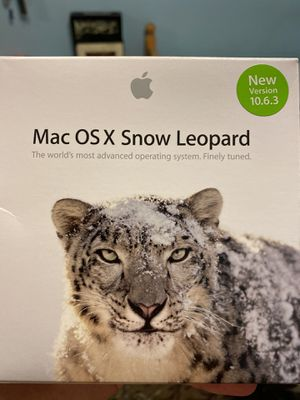 Mac OS X Snow Leopard for Sale in Los Angeles, CA