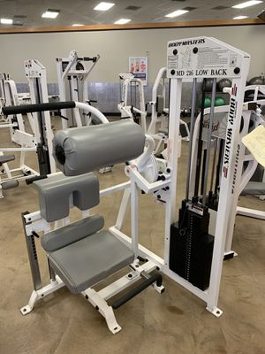 Body master low back machine for Sale in Bakersfield, CA