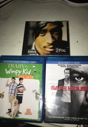 Movies and Tupac CD for Sale in Columbus, OH