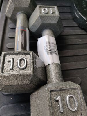 Two 10lb dumbbells! for Sale in Fresno, CA