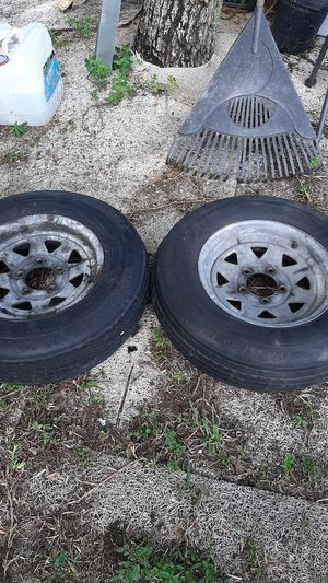 Rines & tires trailer for Sale in Miami, FL