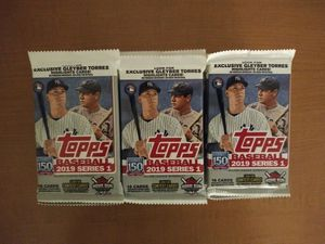 Topps Baseball Trading Packs for Sale in Garden Grove, CA