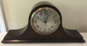 Antique Sessions Mantle Tambour Bing Bong Chime Clock early 1900's Original Key for Sale in Lexington, SC