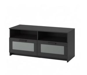 Tv media stand. Great condition. Black for Sale in PRINCE, NY