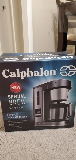 Calphalon coffee maker for Sale in Oklahoma City, OK