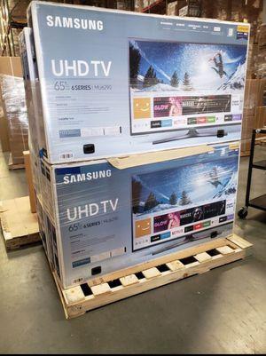 "65"" Samsung Smart 4K UHD Led HDR tv 2160p for Sale in Corona, CA"