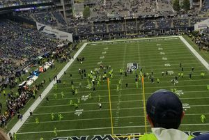 2 Seahawks tickets vs Vikings Monday night football december 2nd at century link for Sale in Pasco, WA
