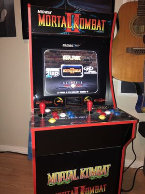 Arcade1up Mortal Kombat 2 - Like New for Sale in Fountain Valley, CA
