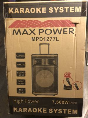 "12"" bluetooth speaker for Sale in Dallas, TX"