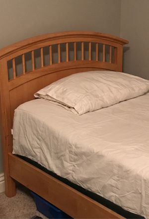 Twin wood bed frame for Sale in Murrieta, CA