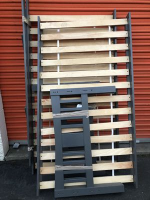 Wooden bunk bed twin over twin for Sale in Boston, MA