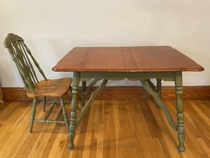 Table & chair for Sale in Boston, MA