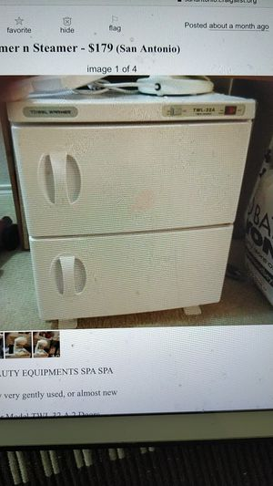 Towel Warmer and Steamer for Sale in San Antonio, TX