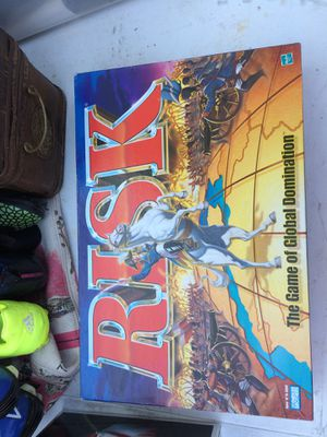 RISK Board Game of Global Domination 1998 Hasbro for Sale in Charlotte, NC