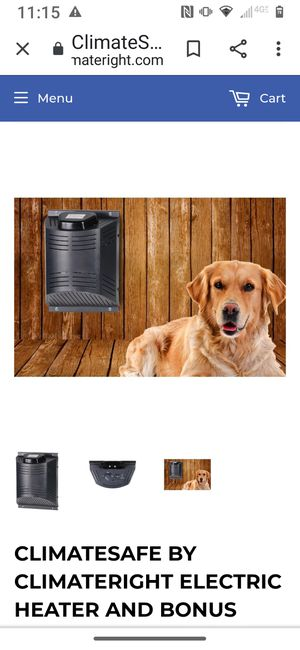 ClimateSAFE Outdoor Dog Pet House Heater for Sale in Coeur d'Alene, ID