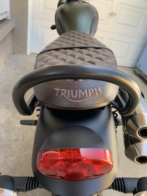 Triumph Scrambler Grab Rail for Sale in Long Beach, CA