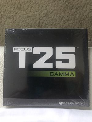Focus T25 work out dvd's ( Alpha, Beta and Gamma) for Sale in Everett, WA