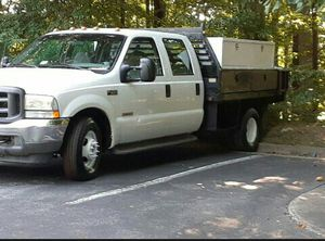 2004 Ford F350 powerstroke diesel utility flatbed for Sale in Fairfax, VA