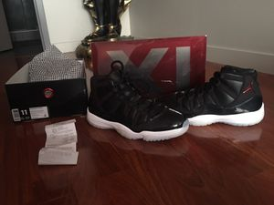 Jordan XI 72-10 for Sale in Philadelphia, PA