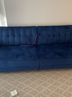 Blue Sofa Sleeper for Sale in West Bloomfield Township,  MI