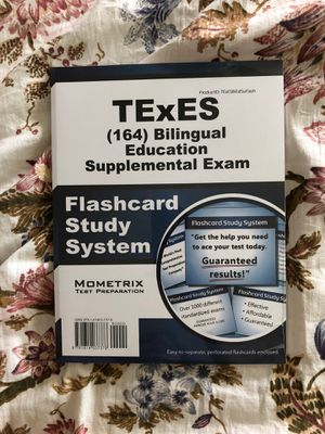 Unopened TExES bilingual Education Supplemental Exam Study Material for Sale in Fort Worth, TX