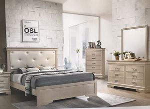 Brand new queen size bedroom set with mattress $649 for Sale in Hialeah, FL