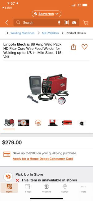 Lincoln electric welder for Sale in Portland, OR