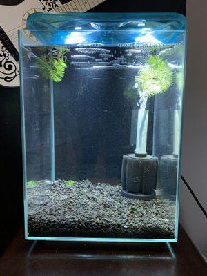 """Topfin 5 gallon """"tall"""" Aquarium for Sale in Chicago, IL"""