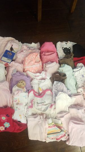 Girls 0-3 months clothes for Sale in Tacoma, WA