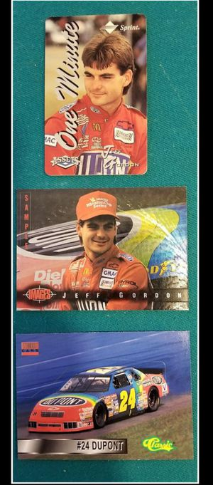 10 1995 Jeff Gordon 3-Card Sets for Sale in Garner, NC