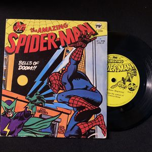 "Amazing Spider-Man Vinyl Record 1970s Bells of Doom 7"" 33 1/3 for Sale in Chicago, IL"