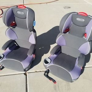 Two Graco Highback Booster Seats. for Sale in Chandler, AZ