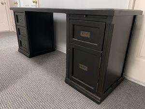 Solid wood 3 piece desk for Sale in Seattle, WA