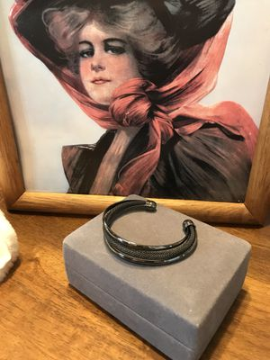 Pretty! Grey Adjustable Cable Bangle Bracelet for Sale in Gainesville, VA