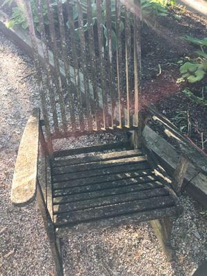 Garden project rocker chair for Sale in Hinsdale, IL