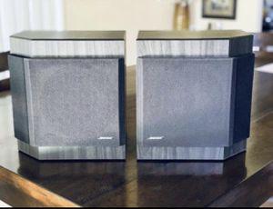 Beautiful pair of Bose 2001 Speaker Direct Reflecting Bookshelf Speakers (grey and black) for Sale in Phoenix, AZ