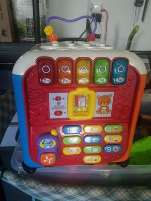 VTech Ultimate Alphabet Activity Cube for Sale in Spring Hill, FL