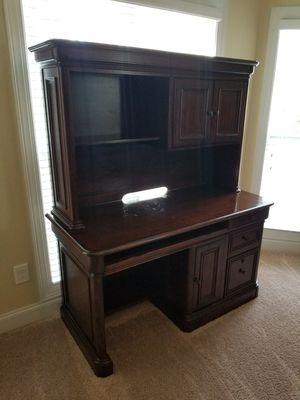 Villa Tuscano Desk w/Hutch by Golden Oak for Sale in Carthage, NC