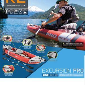 Kayak Intex Excursion Pro for Sale in San Jose, CA