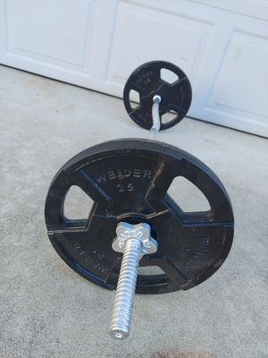Curl bar end plates for Sale in San Jose, CA