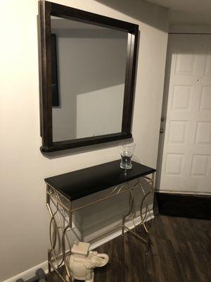 Consolé Table with Mirror for Sale in Boca Raton, FL