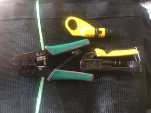 Klein Compression Crimpers - wire prep tool for Sale in Henderson, NV