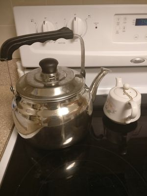 Tea kettle and pot for Sale in US