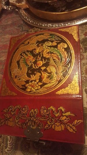 Old Chinese jewelry box for Sale in Portland, OR