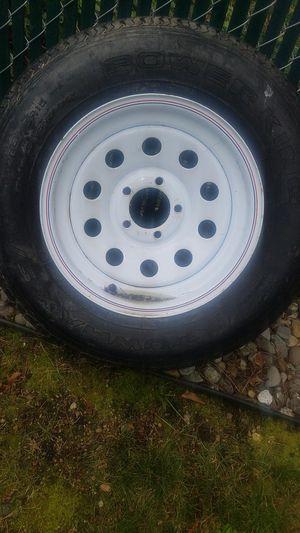 Brand new trailer 5 lug tire&wheel for Sale in Everett, WA