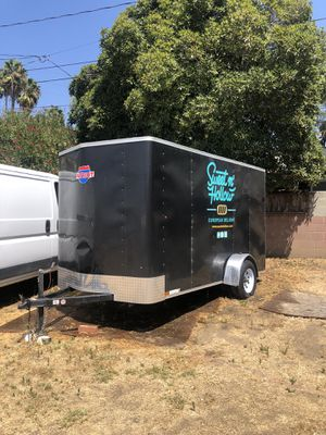 6x12 CARGO TRAILER - great condition! for Sale in Glendale, CA