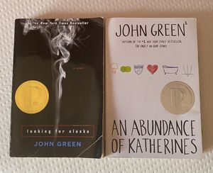 John Green's Looking for Alaska & An Abundance of Katherines for Sale in Los Angeles, CA